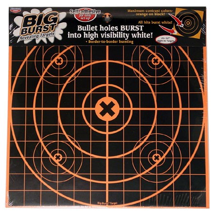 "Image for Big Burst 12"" Sight-In Self Adhesive Splattering Target (25 Pack)"