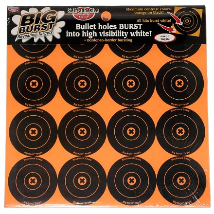 "Image for Big Burst 3"" Round Bulls Eye Self Adhesive Splattering Target 400 Targets (25 Pack)"