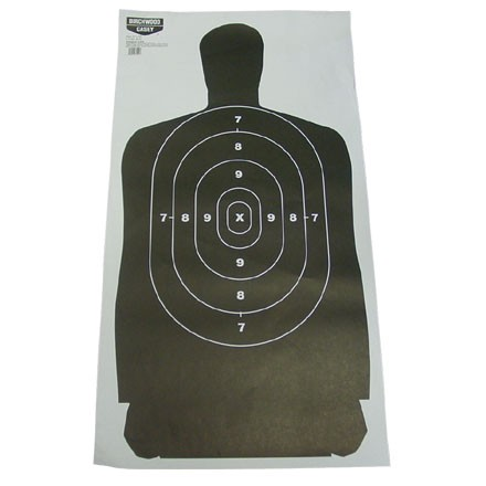 "Image for EZE-Scorer 24x45"" Silhouette Paper Target 1 Target"
