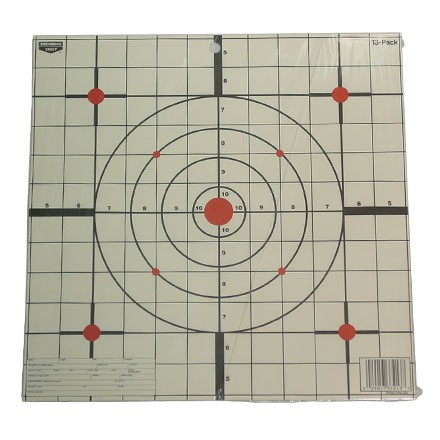"Plain Paper EZE- Scorer 12"" Sight-In Target (13 Pack)"