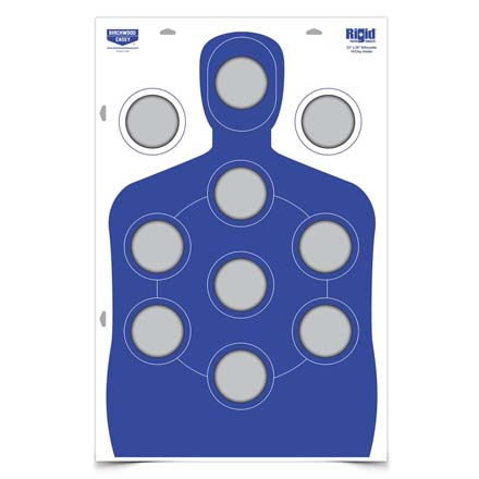 Image for Rigid Clay Target Corrugated Cardboard Silhouette