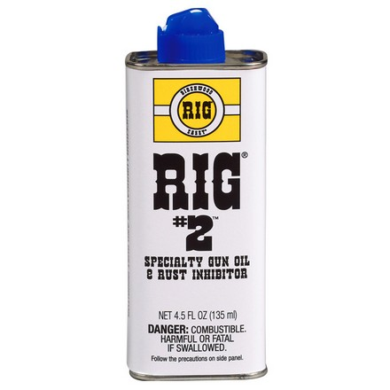 RIG #2 Gun Oil Lubricant and Protectant  4.5 Oz