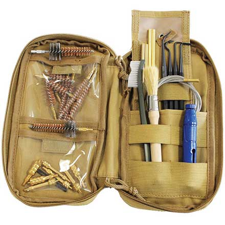 Rifle and Handgun Soft Sided Range Cleaning Kit