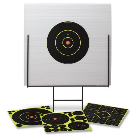 "Image for Portable Shooting Range 18x18"" With Weatherproof Backboard"