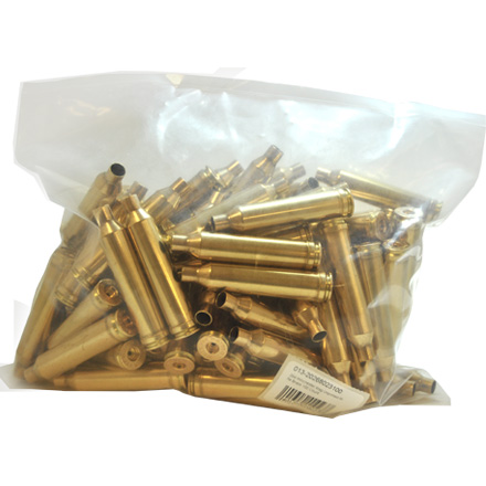 264 Winchester Mag Unprimed Rifle Brass 100 Count