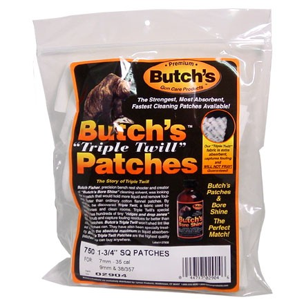 Butch's Triple Twill Cleaning Patch 1-3/4