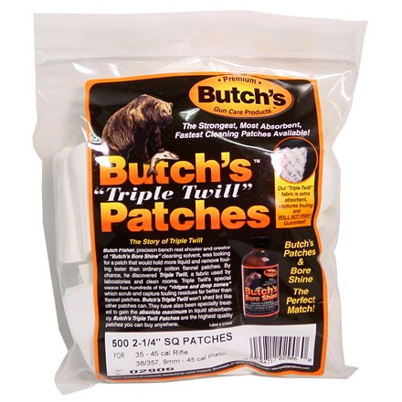 Butch's Triple Twill Cleaning Patch 2-1/4