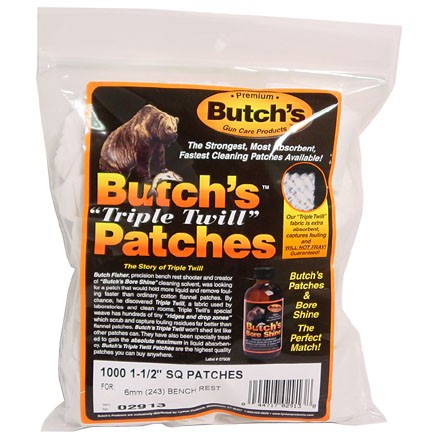 Butch's Triple Twill Cleaning Patch 1-1/2