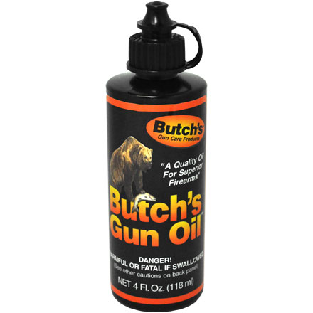 Butch's Bench Rest Gun Oil 4 Oz