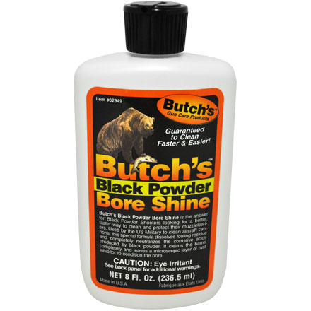 Butch's Black Powder Bore Shine 8 Oz
