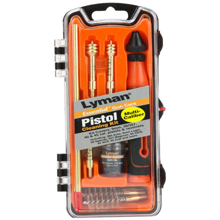 Pistol Cleaning Kit 9mm, 40 Cal, 45 ACP