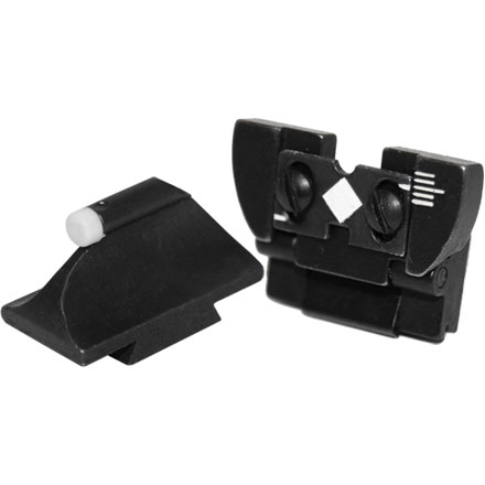 16AML Rear Sight & 37ML Front Sight Combo Black Powder Sight