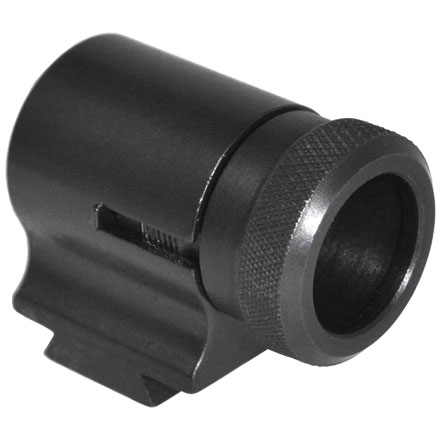 Image for 17AEU Front Target Globe Sight (European Dovetail) Black Powder Sight