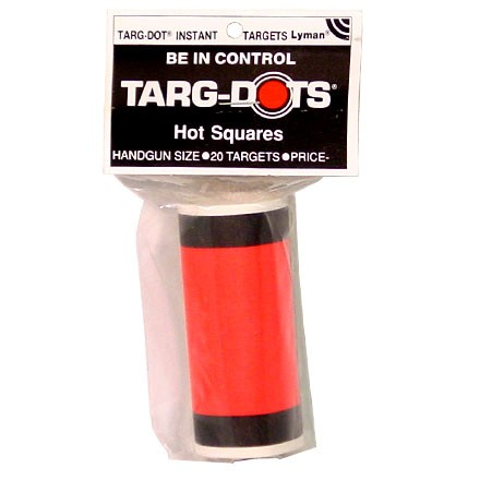 "Image for 3"" Hot Square Target (20 Pack)"