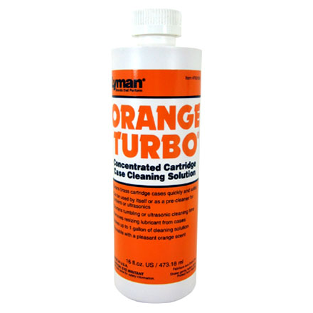 Orange Turbo Concentrated Cleaning Solution 16 Oz