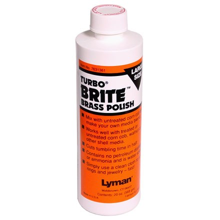 Turbo Brite Brass Polish 20 Oz