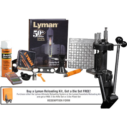 Explore Lyman Reloading, Reloading Kits, and more!