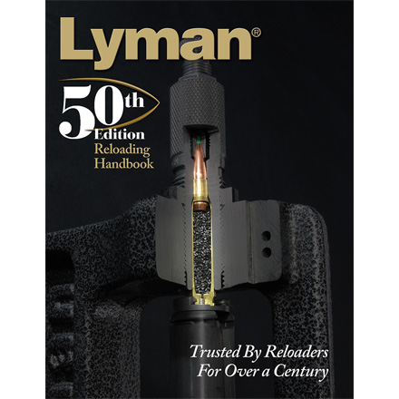 50th Edition Reloading Manual (Hard Cover)