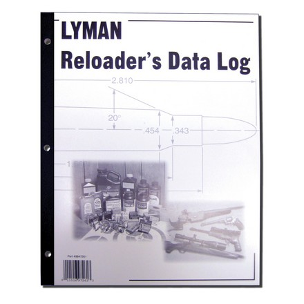 Reloaders Data Log
