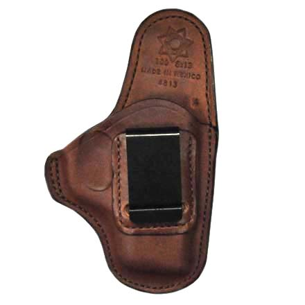 Professional Tan Right Hand Leather Holster SZ 13-Smith and Wesson M and P 9mm With Shield