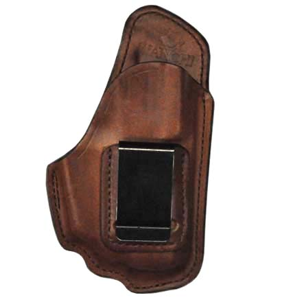 Image for Professional Tan Right Hand Leather Holster SZ 22 Ruger LC9 With Crimson Trace