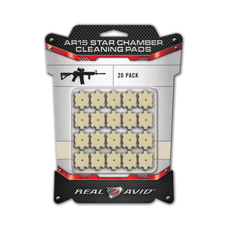 AR-15 Star Chamber Cleaning Wool Pad 20 Count
