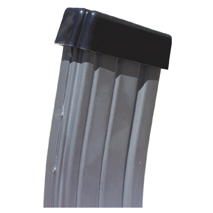 AR-15 Magazine Dust Cover 4 Pack (Black Finish)