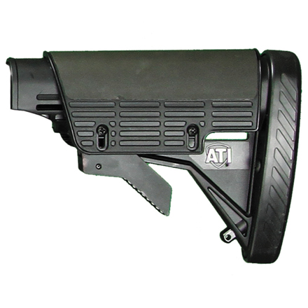 Image for AR-15 Six Position Collapsible Buttstock With Buttpad