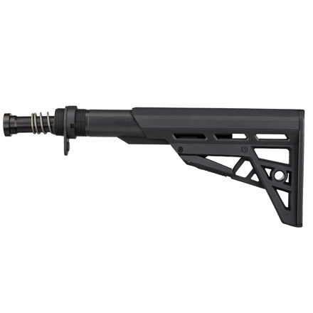 AR-15 TactLite Adjustable Mil-Spec Stock With Mil Spec Buffer Tube Assembly