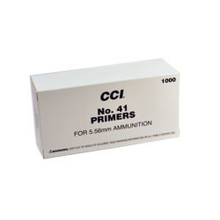 #41 5.56 & 30 Carbine NATO Spec Primer 1000 Count