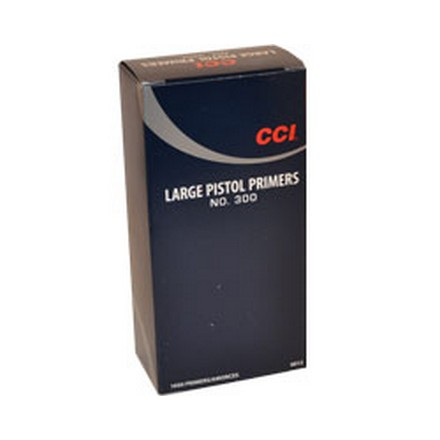 #300 Large Pistol Primer (1000 Count)