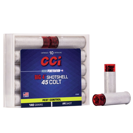 45 Colt Shotshell 4 Shot 10 Rounds