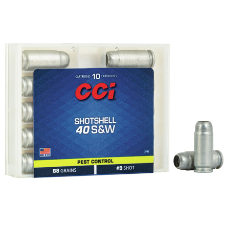 40 S&W Shotshell 10 Rounds