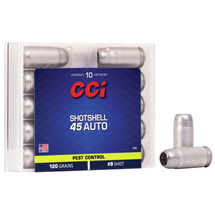 45 Auto Shotshell 10 Rounds