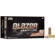 38 Special 125 Grain Blazer Brass Full Metal Jacket 50 Rounds