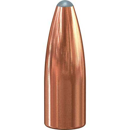 22 Caliber .224 Diameter 55 Grain Spitzer Soft Point 100 Count
