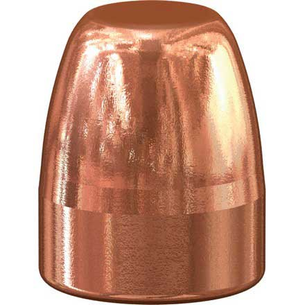 45 Caliber .451 Diameter 185 Grain Total Metal Jacket Flat Nose Match 100 Count