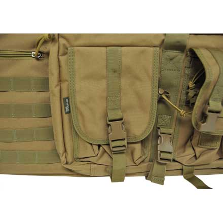 "Double Gun Case 36""x14""x12.5"" Tan"