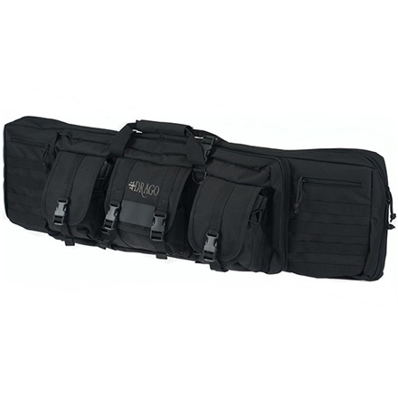 "Single Gun Case 42""x14""x10"" Black"