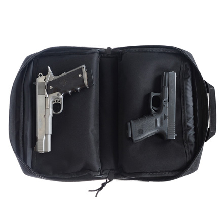 Double Pistol Case Black