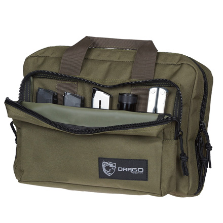 Double Pistol Case Green