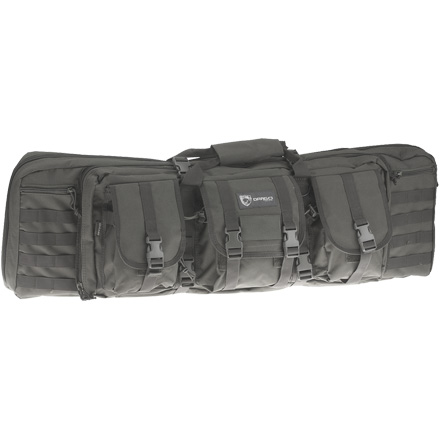 "42"" Double Gun Case Grey"