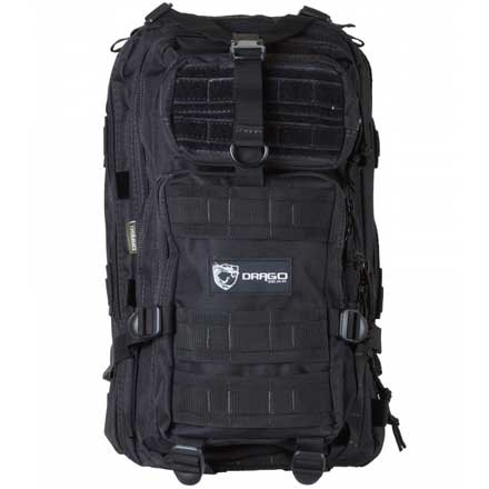 "Tracker Backpack Black 18""x11""x11"""