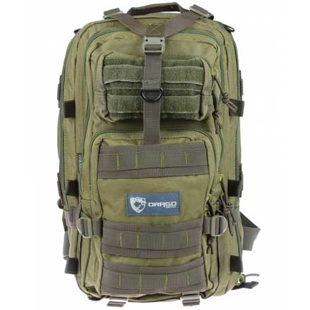 "Image for Tracker Backpack Green 18""x11""x11"""
