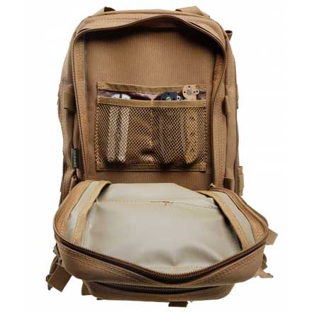 "Tracker Backpack Tan 18""x11""x11"""