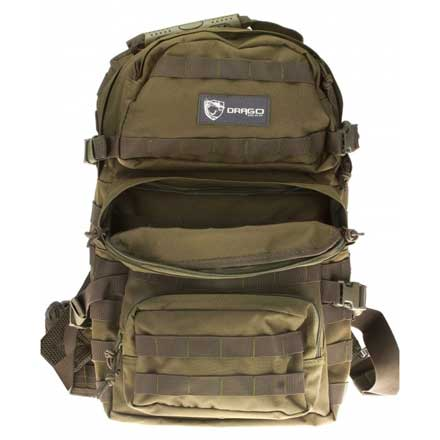 "Image for Assault Backpack Green 20""x15""x13"""