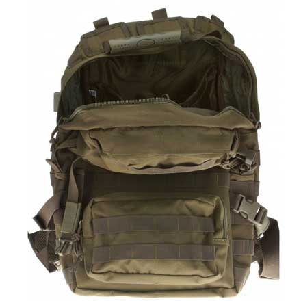 "Assault Backpack Green 20""x15""x13"""