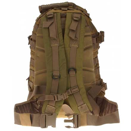"Assault Backpack Tan 20""x15""x13"""