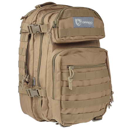 "Scout Backpack Tan 16""x10""x10"""
