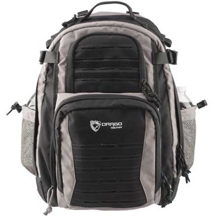 Defender Backpack Shadow Black and Steel 17.5